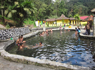 Cangar Hot Spring, a Place to replenish your energy, places, attraction, family vacation, vacation, hot spring, east java
