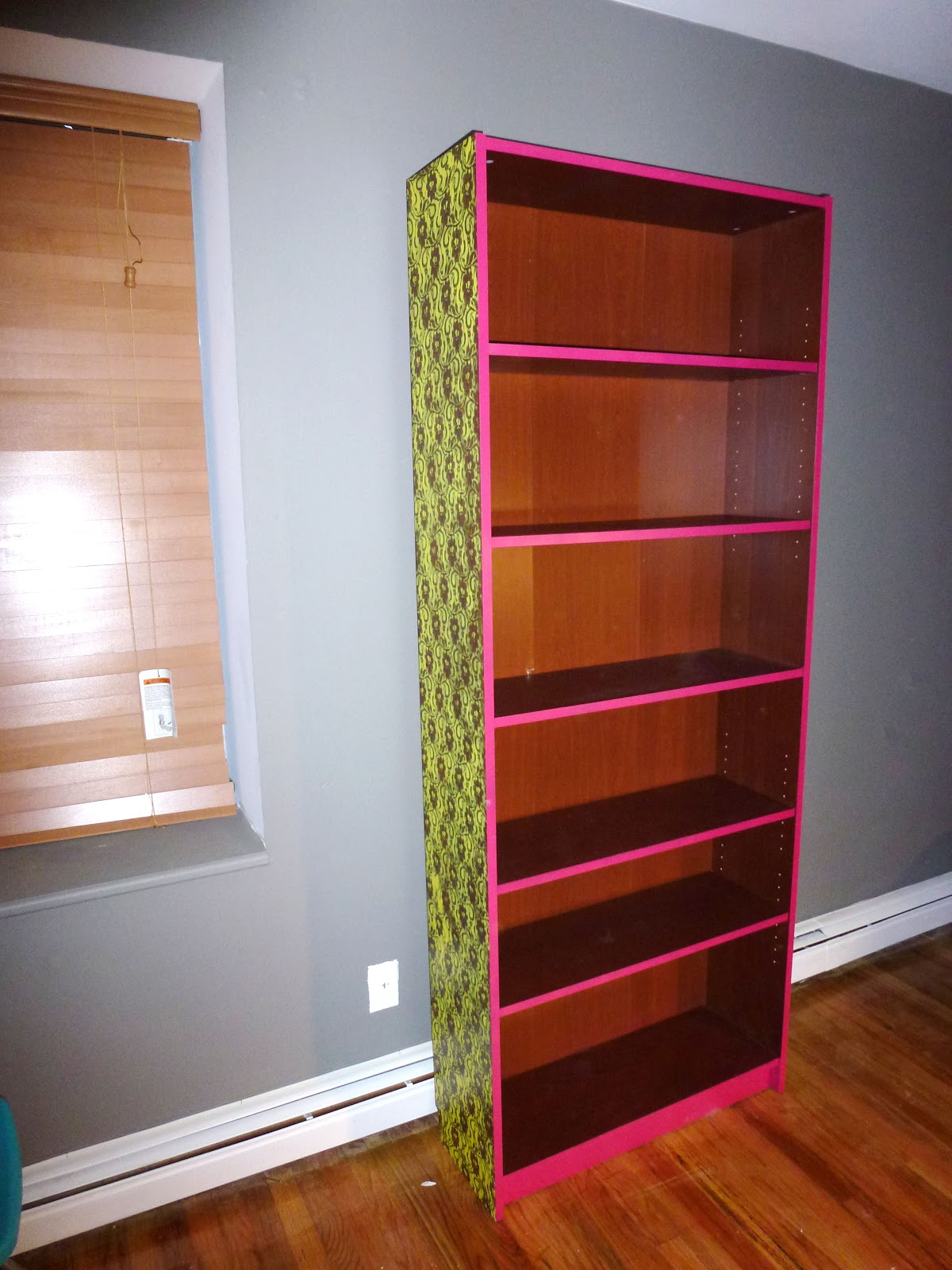 Ikea Billy Yellow Hey Look What I Made Neon Lace Bookshelf