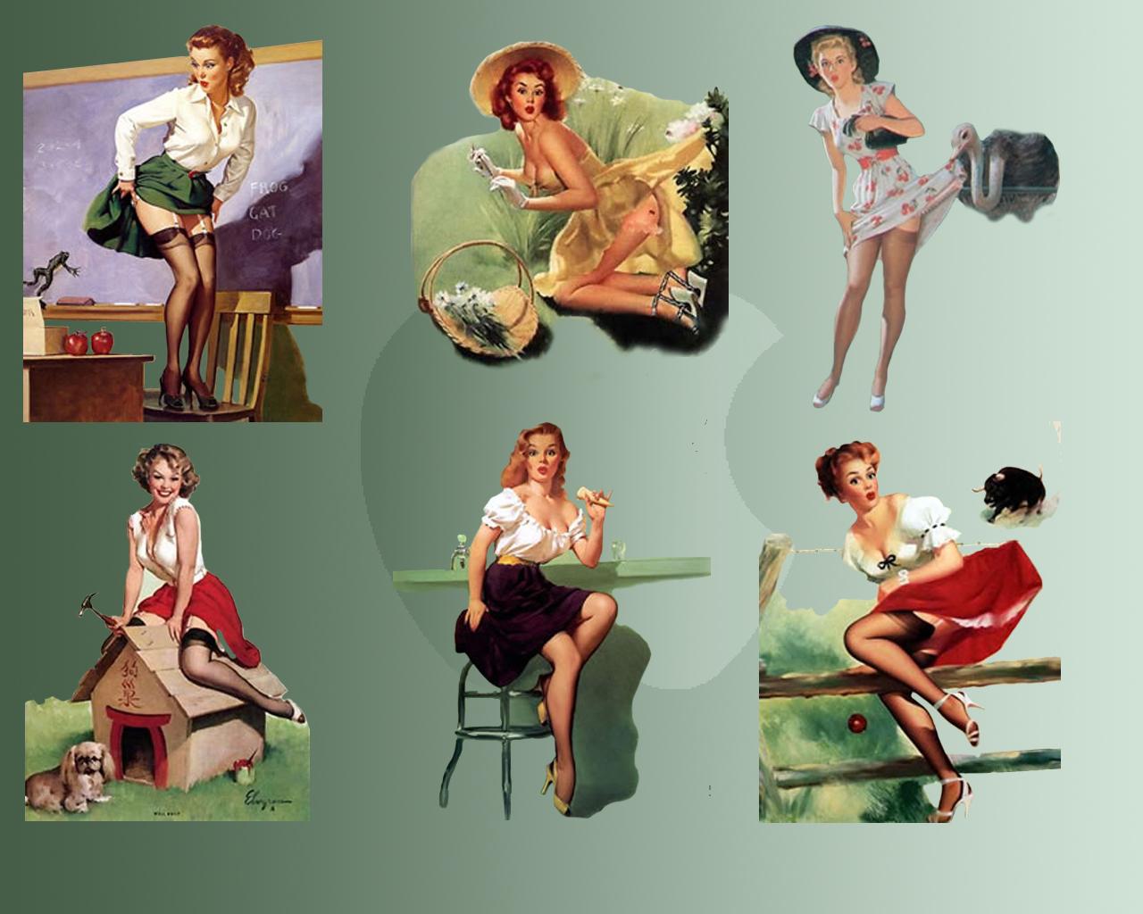 Pin up girls wallpapers im genes para compartir sagitarioxp - Pin up desktop backgrounds ...