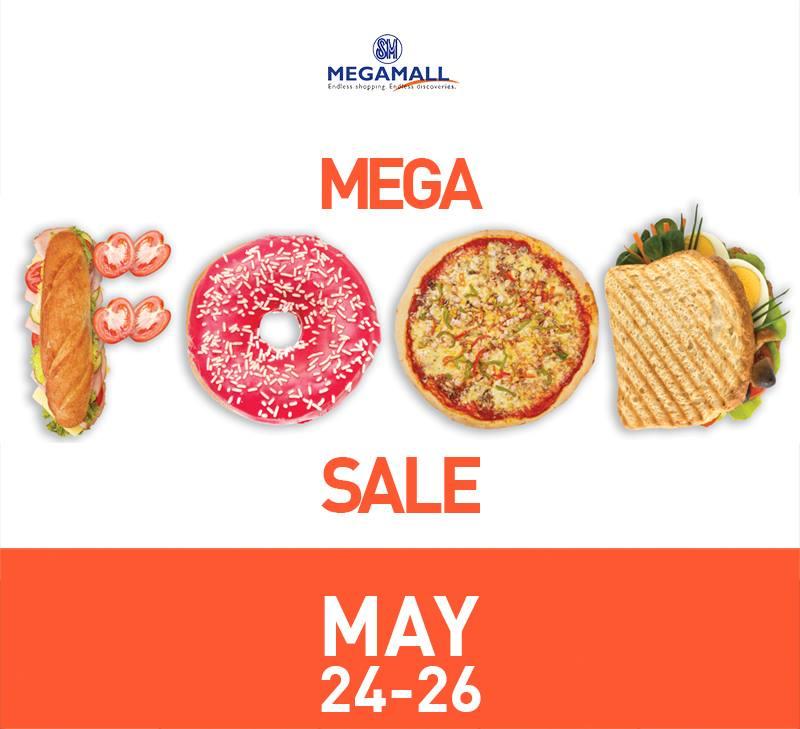 Food Sale: SM MEGAMALL MEGA FOOD SALE - May 24 To 26 2013