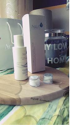 Aqua π Cosmetics -Recenzja kosmetyków