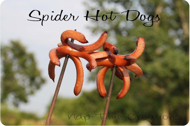 spider hot dogs
