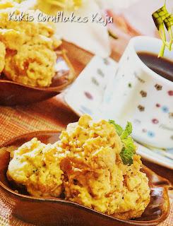 Resep Kue - Kukis Cornflakes Keju