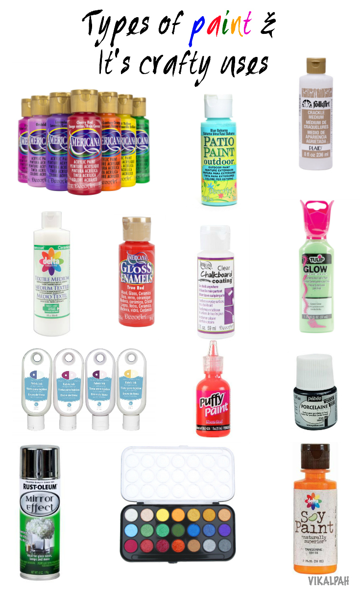Vikalpah: Let's talk about Craft Paints and it's crafty uses