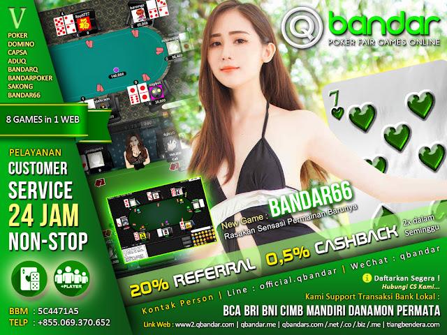 Image of Panduan Permainan Judi Bandar66 Online QBandar