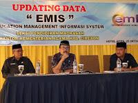 Seksi Pendidikan Madrasah Kemenag Cirebon Gelar Updating Data EMIS