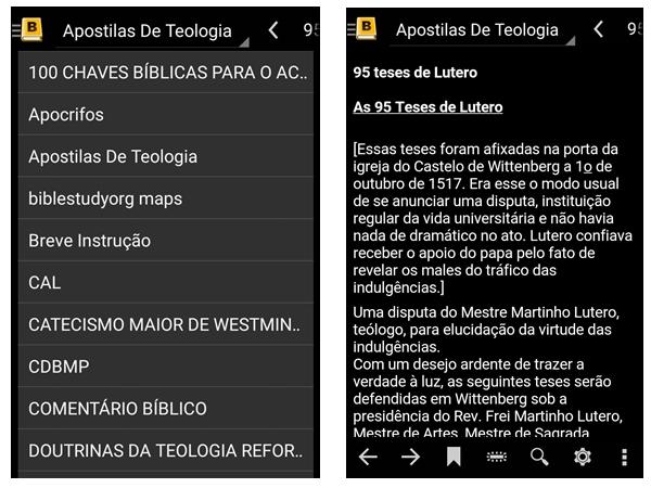 Pacote de livros e mapas para MySword em português