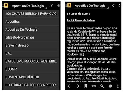 Aplicativo android da bíblia