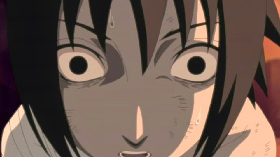 Sasuke confundido