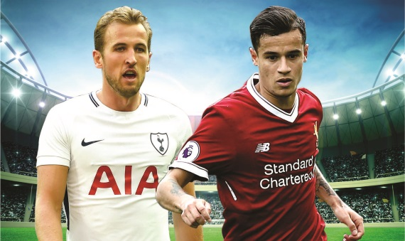 Liverpool face Tottenham at Wembley Stadium on Sunday afternoon.