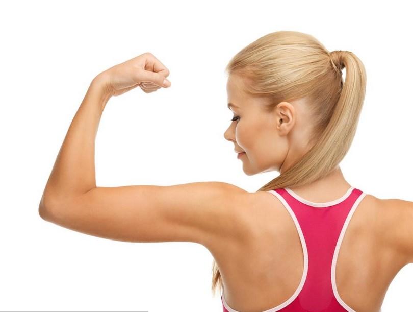 lengan putih Tips dan Cara Mudah Mengecilkan Lengan Atas untuk Wanita