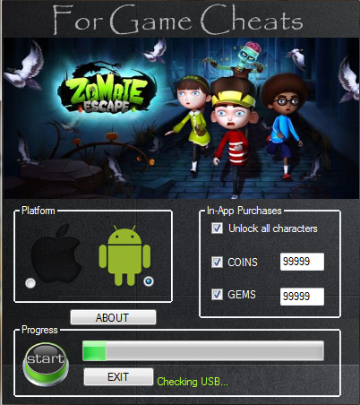 Download Free Zombie Escape Game (All Versions) Hack Unlimited Coins , Gems 100%  working and Tested for IOS and Android MOD, Trainer