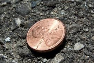 Find a penny pick it up; all day long you'll have good luck