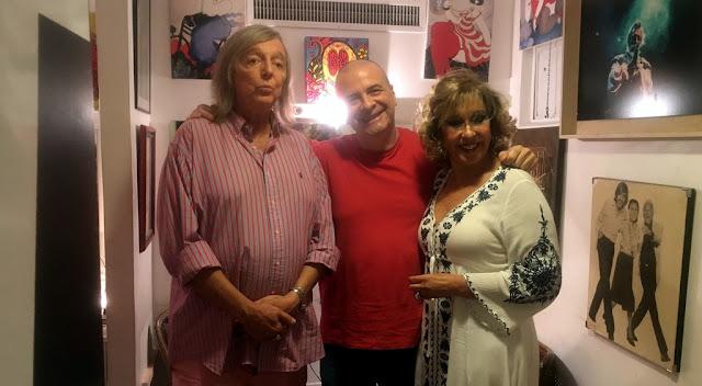 """Atilio Veronelli fue a ver """"Lord"""", El espectáculo de Pepe Cibrian y Georgina Barbarossa"""