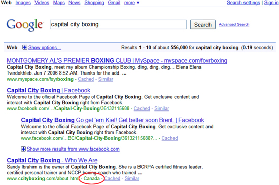 How to use Geo targeting in Google webmaster tool