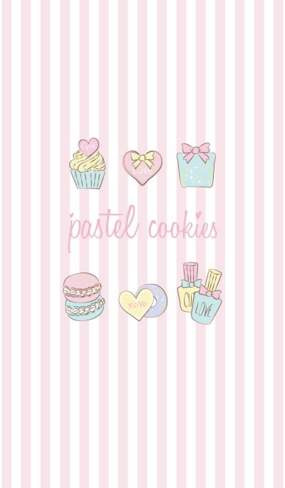 pastel cookie