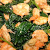 Stir Fried Spinach with Shrimps