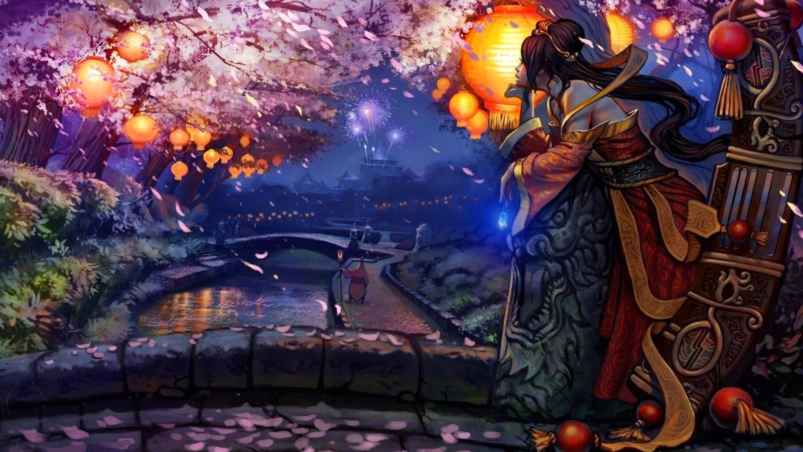 Sona League of Legends Wallpaper, Sona Desktop Wallpaper