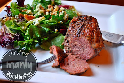 Sirloin Steaks with Peppercorn Marinade from From Everyday to Gourmert for #GetHimFed on www.anyonita-nibbles.com