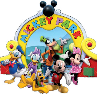 Mickey Clubhouse Free Printable Image.