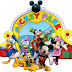 Mickey Clubhouse: Free Party Printables.