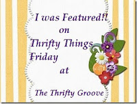 Featured on Thrifty Things Friday