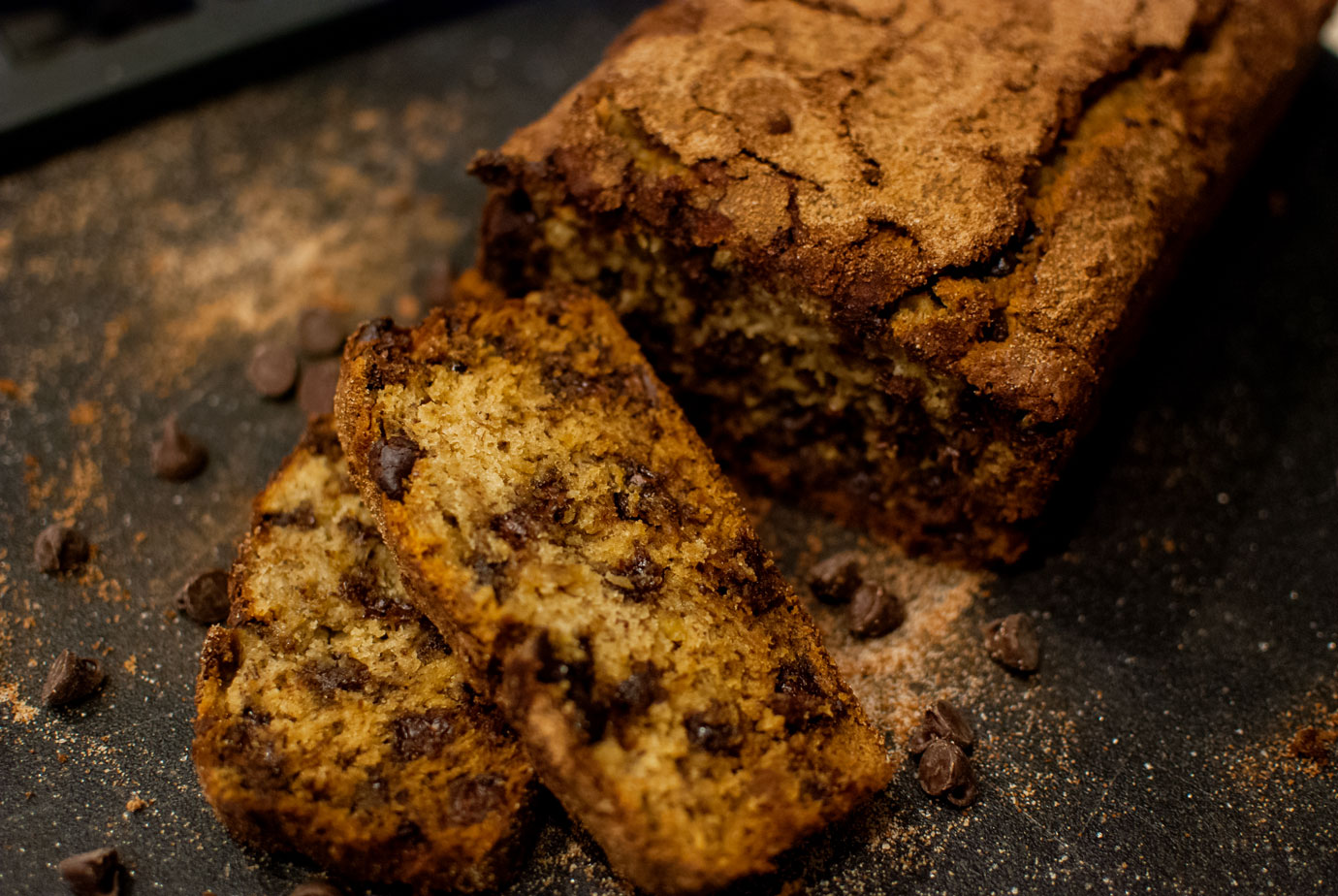 Banana Bread Recipe With Chocolate Chips And Cinnamon
