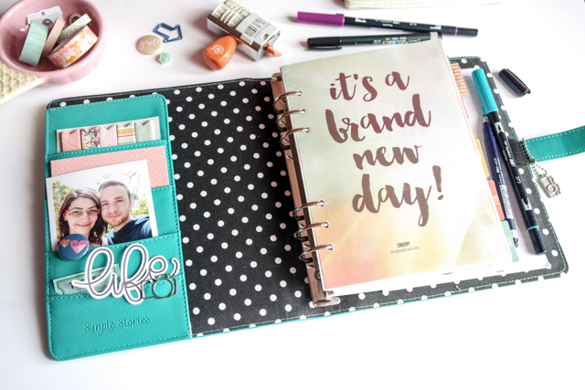 scrappin'planner by kushi settembre ottobre 2016 | www.kkushi.com