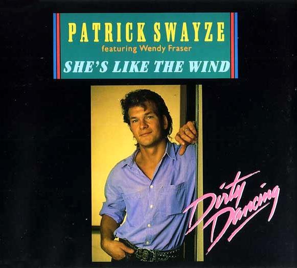 Vinyl-Video: Patrick Swayze - She's Like The Wind [1987]
