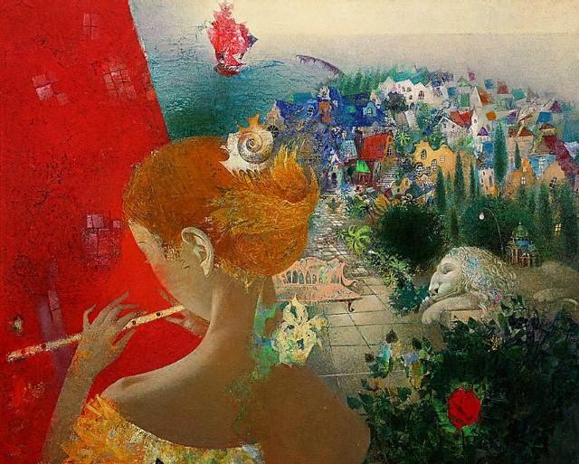 Изобразительное искусство Белоруссии. Елены Шлегель 8