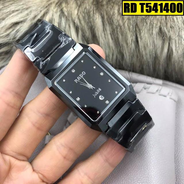 Đồng hồ nam mặt chữ nhật Rado RD T541400