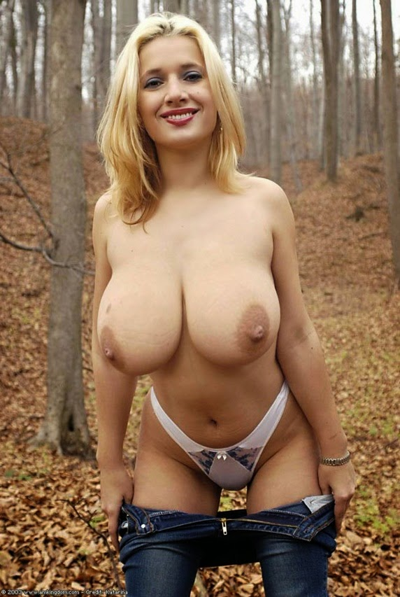 Nude mature with big tits