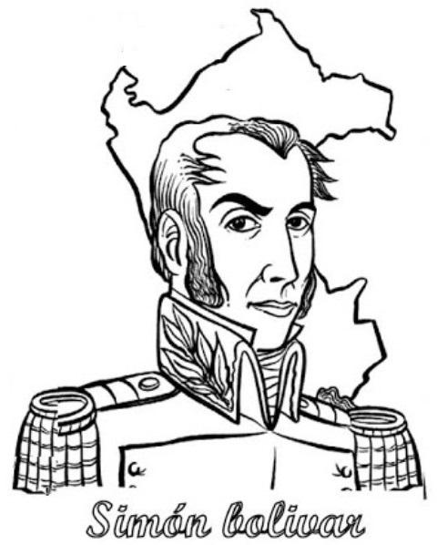 Colorear Bolivar en Perú