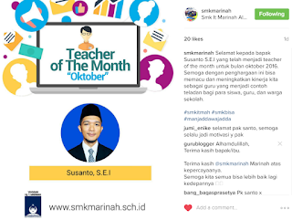 Guru Blogger, Guru of The Month, Guru Blogger Indonesia