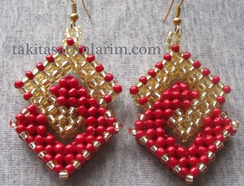 3 Beaded Earrings Tutorials To Try