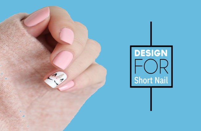 Nail Art Designs For Short Nails With Comely Adjustment