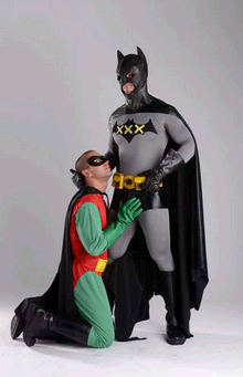Batman and robin xxx