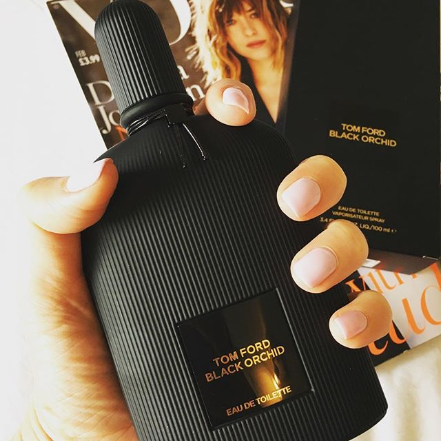 kiss, blush and tell: tom ford black orchid eau de toilette {new}