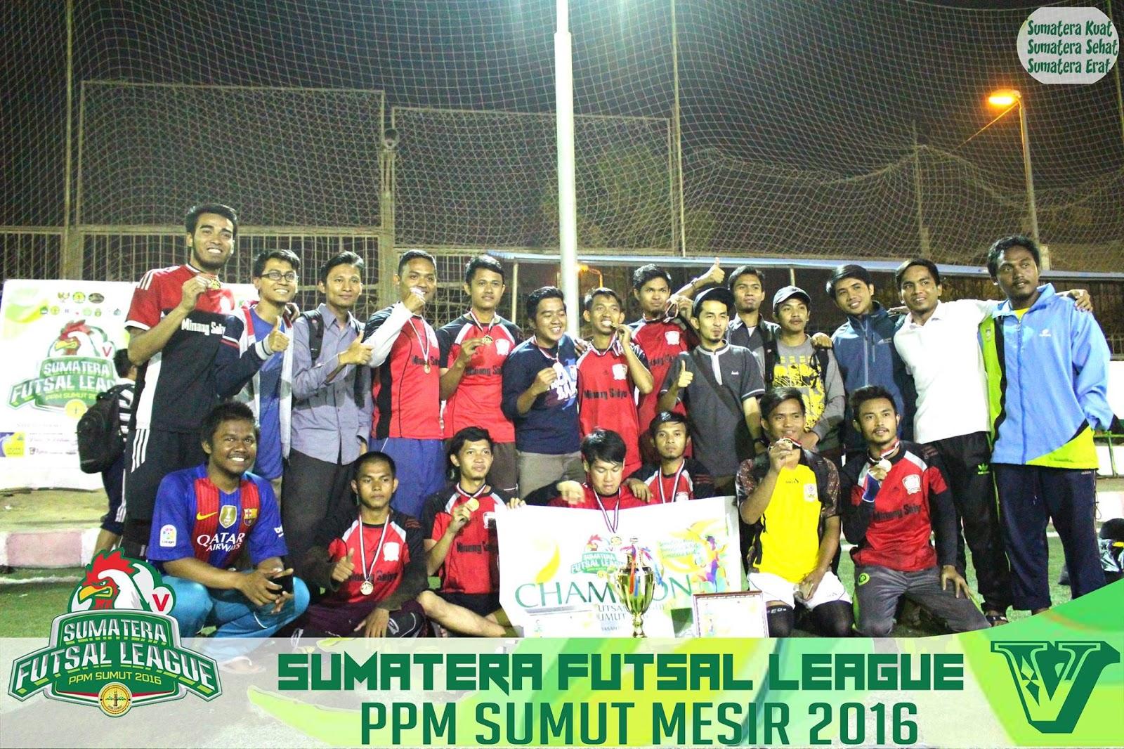Minang Saiyo FC Juarai Sumatera Futsal League V Ucok Pasaribu Jadi