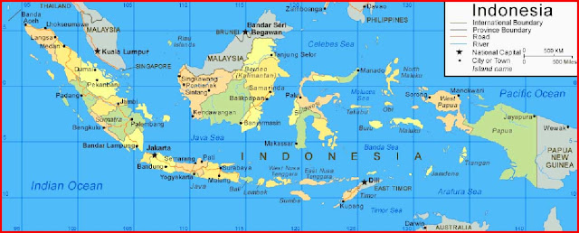 image: Indonesia Map HD