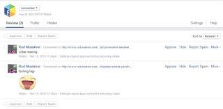 Membuat Pemberitahuan Dan Moderasi Komentar Facebook di Blog