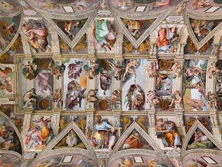 teto capela sistina vaticano guia portugues - Vaticano