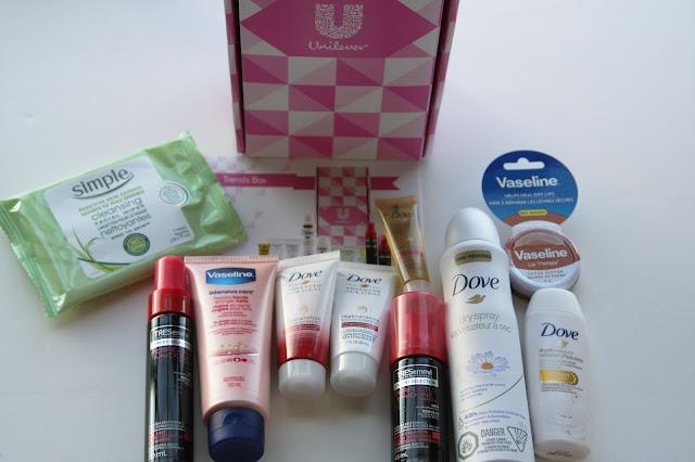 free unilever sample box