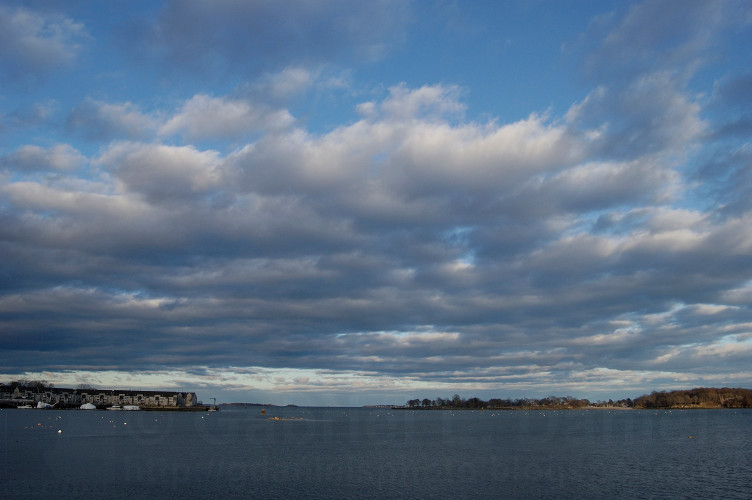 Ocean and clouds in Salem, MA (photo by Gabriel L. Daniels)