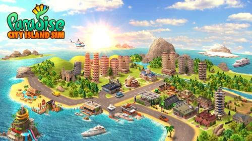 BAIXAR: Paradise City  Island Sim Town v1.4.8 APK MOD (ATUALIZADO)