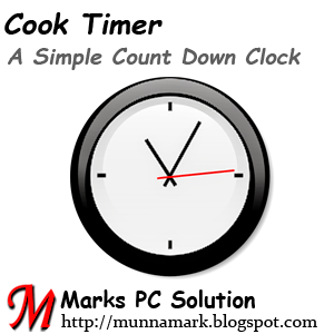 Cook Timer Countdown Clock