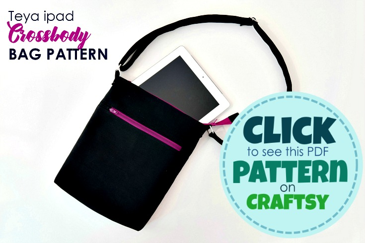 Teya - brand new Crossbody Bag Pattern - Get it here.