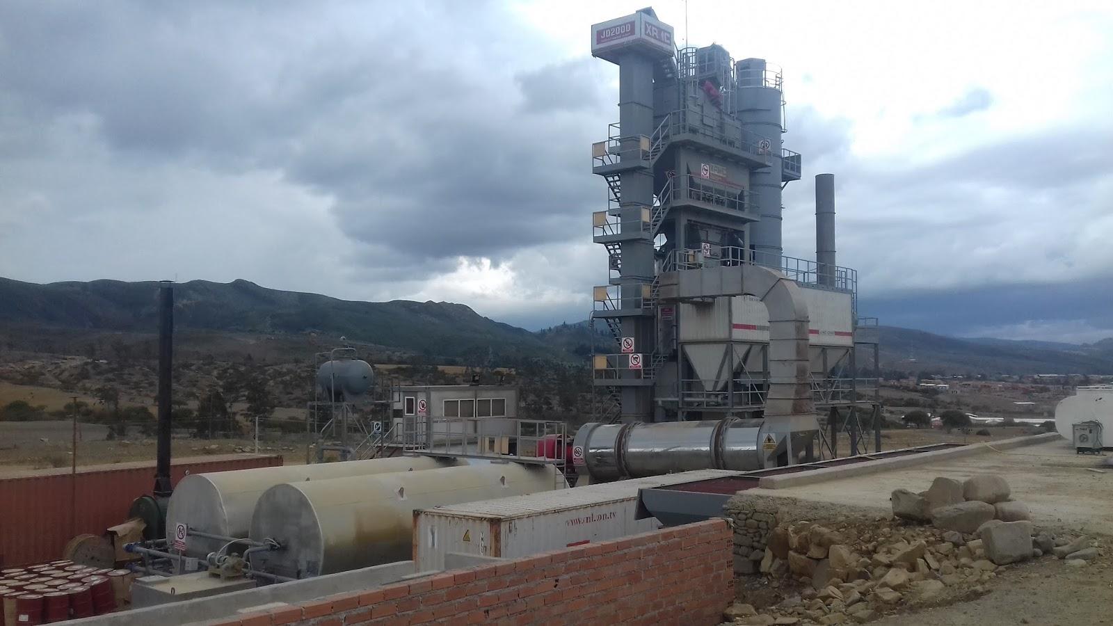 La planta de asfalto JD 2000 XRMC es de tecnología China