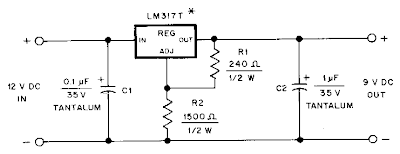 Hand Held Transceiver dc Adapter Circuit Diagram