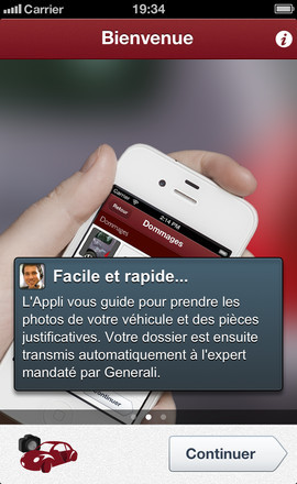 Application AutoFocus sur iPhone